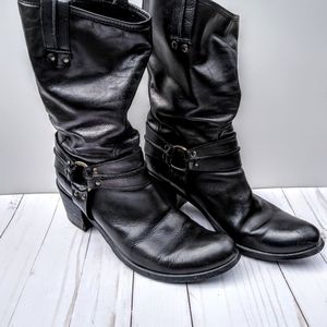 Charles David Black Boots Sz 41/10